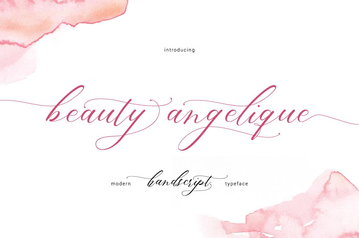 Beauty Angelique example image 1