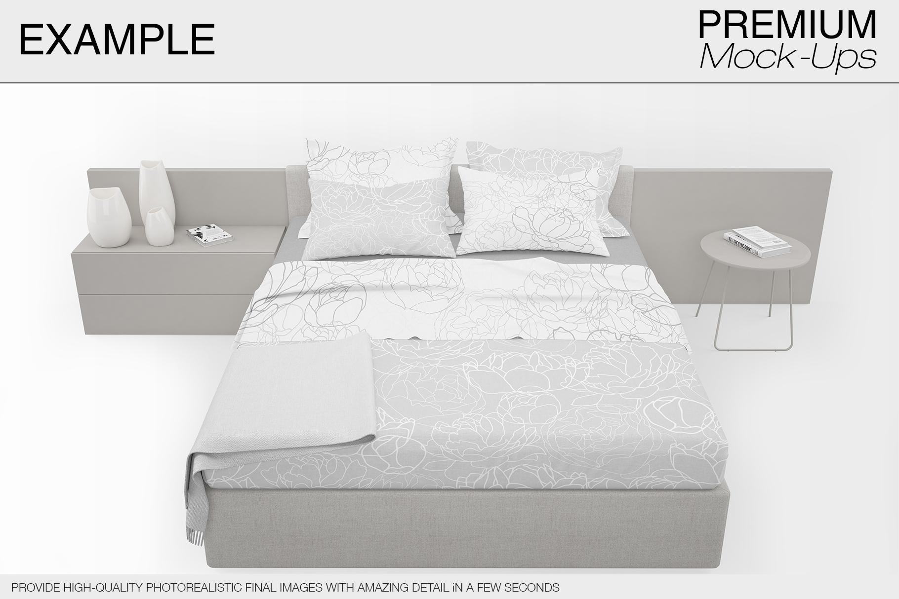 Bedding Mockup Set example image 6