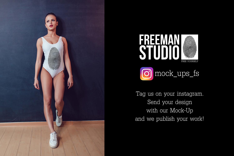 Bodysuit Mock-Up 2017 Vol.2 example image 2