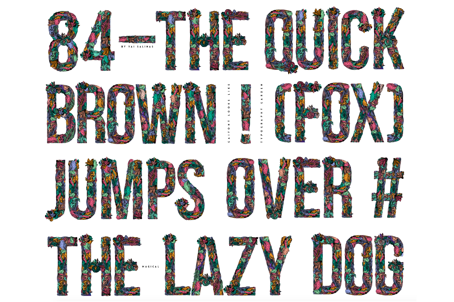 Gaia Font example image 5
