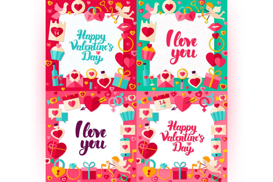 Happy Valentine's Day Concepts example image 8