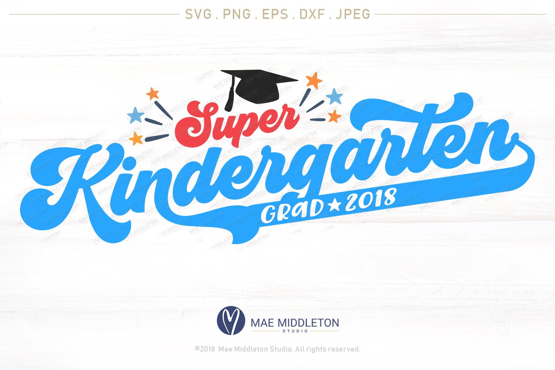 Mini Bundle Preschool, Kinder, Senior Grad - editable years example image 4