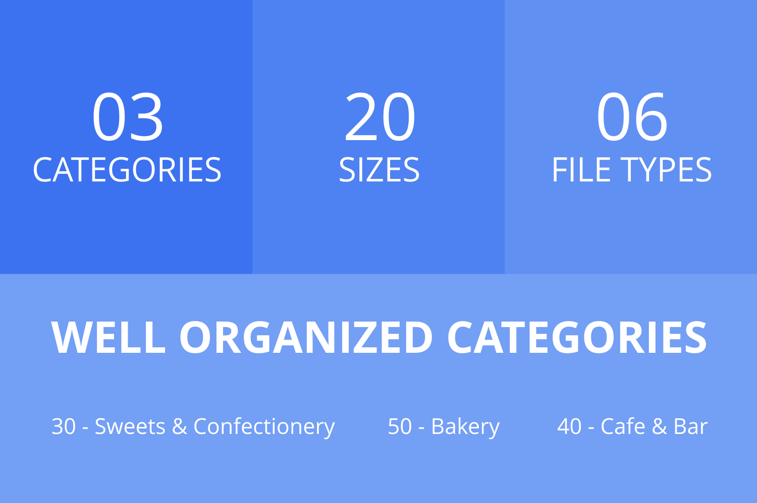 120 Sweets & Bakery Filled Line Icons example image 3