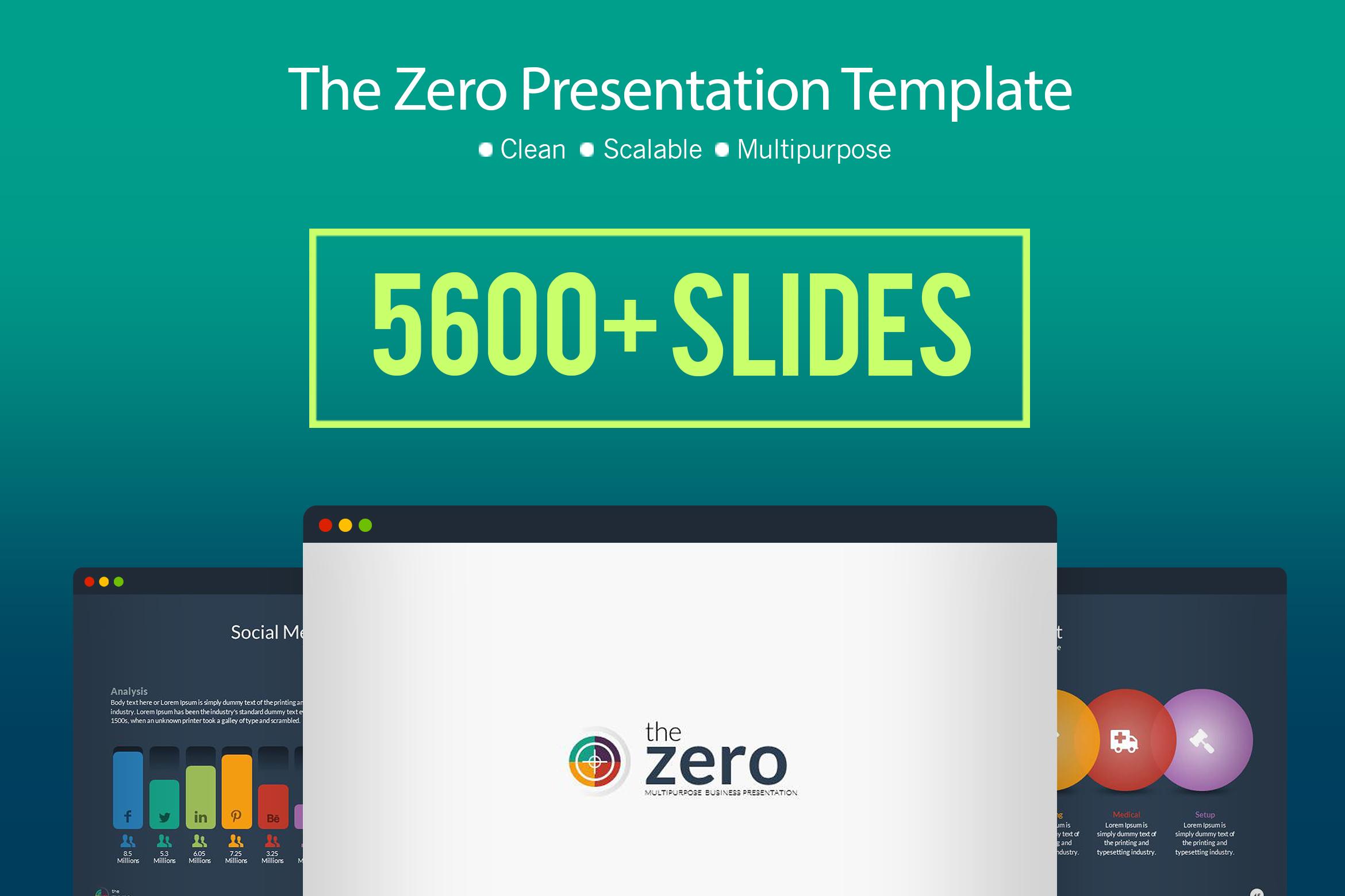 Business infographic powerpoint present design bundles business infographic powerpoint presentation template example image 1 wajeb Images