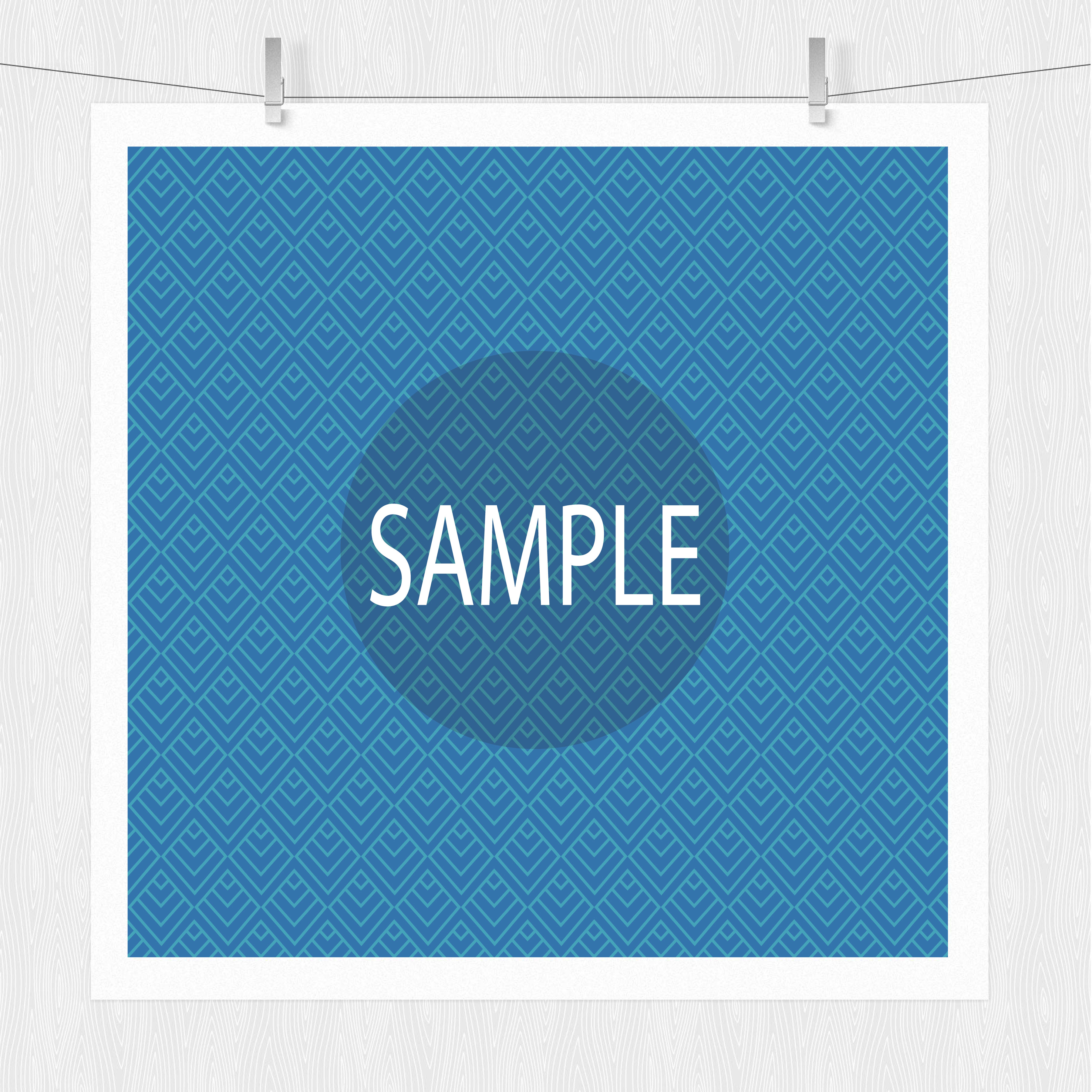 Blue Patterned Paper Pack example image 5