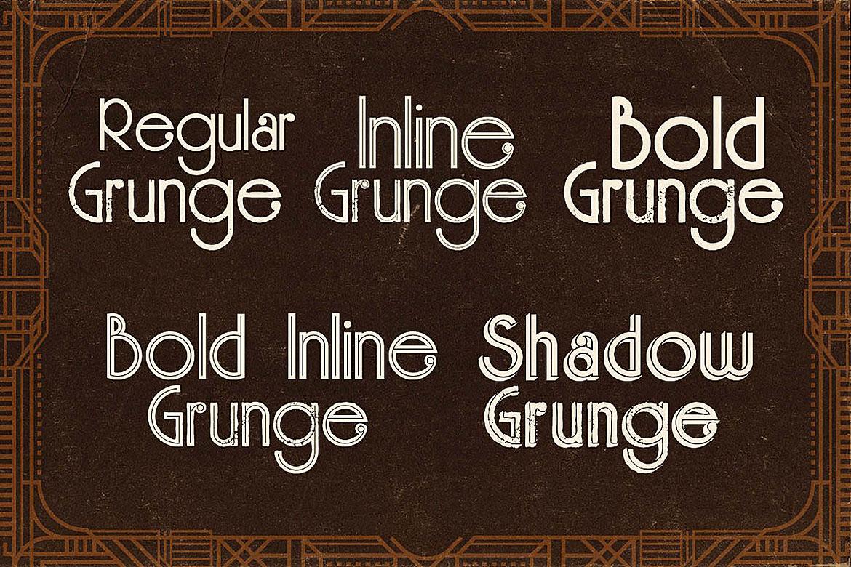 Skywalker - ArtDeco Typeface example image 3