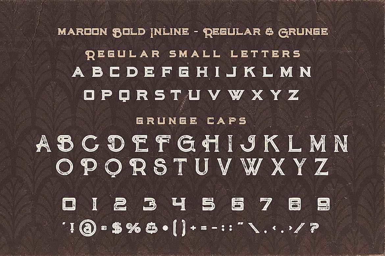 Billiard Font Duo example image 4