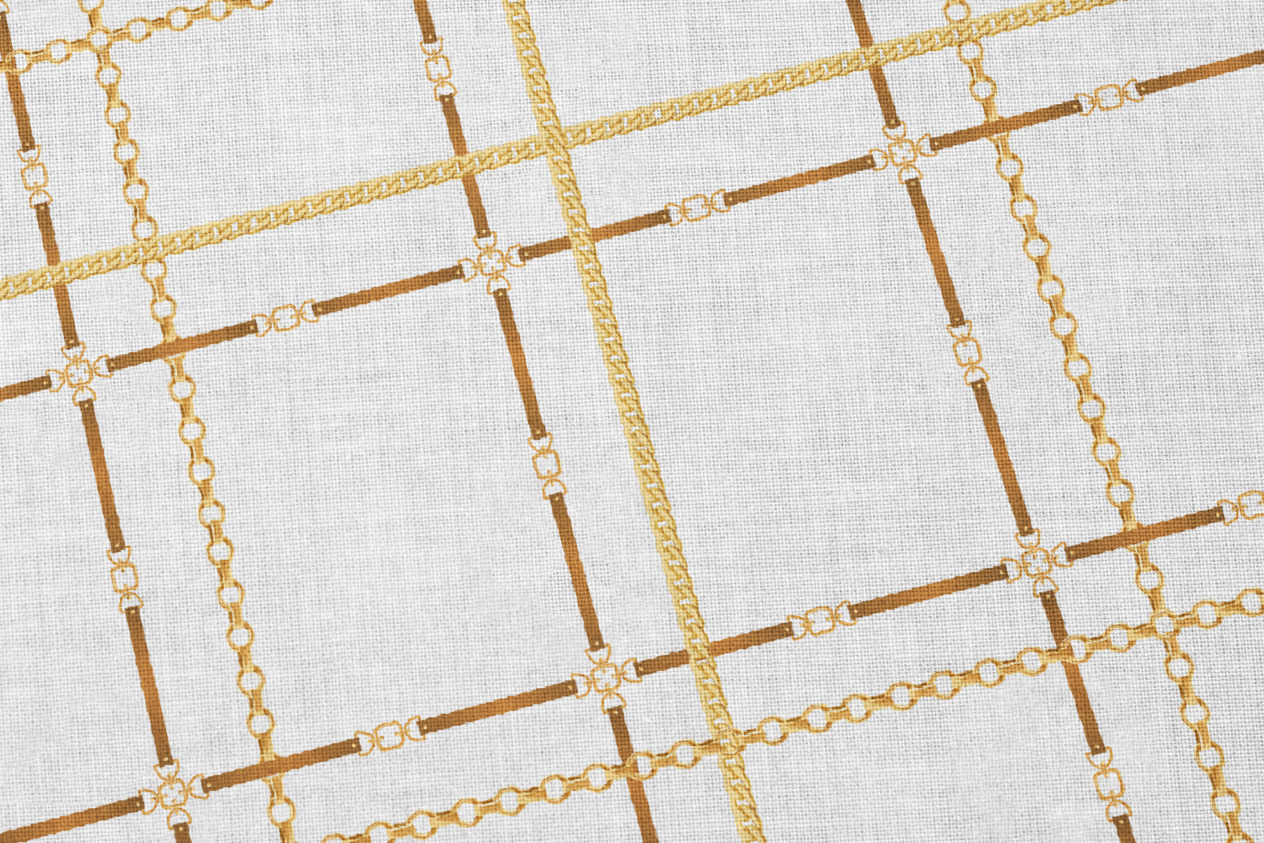 Chains and Belts Seamless Patterns. Set 2 example image 5