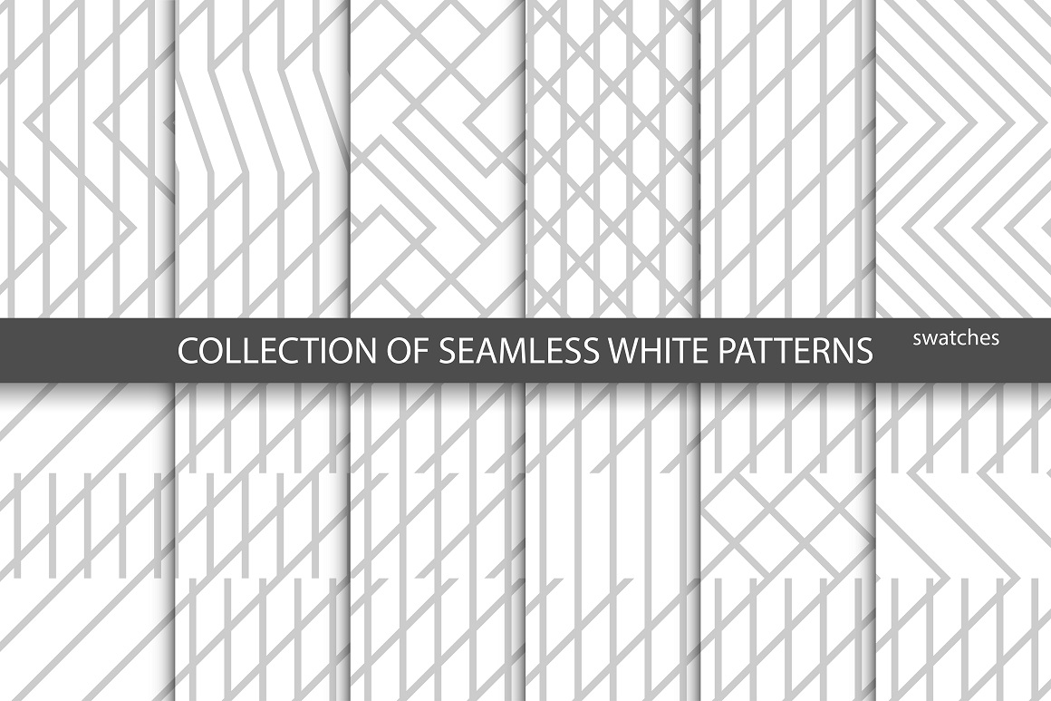 Geometric seamless creative patterns example image 2