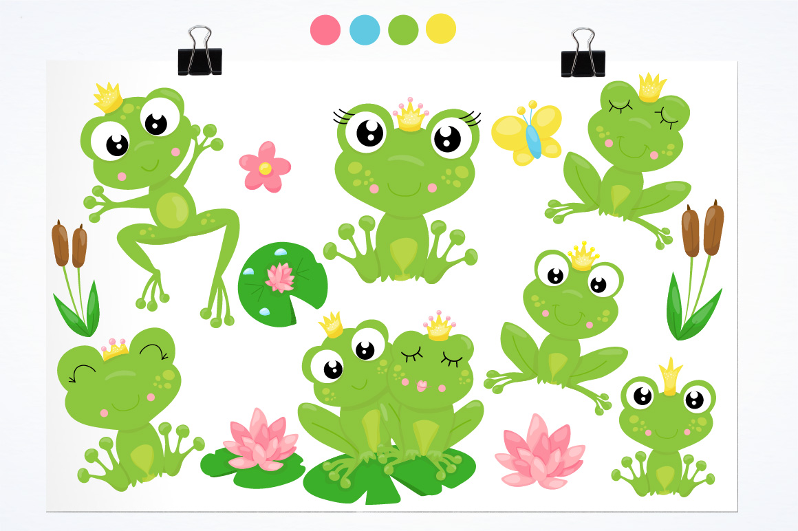 Frog prince graphics and illustrations example image 2
