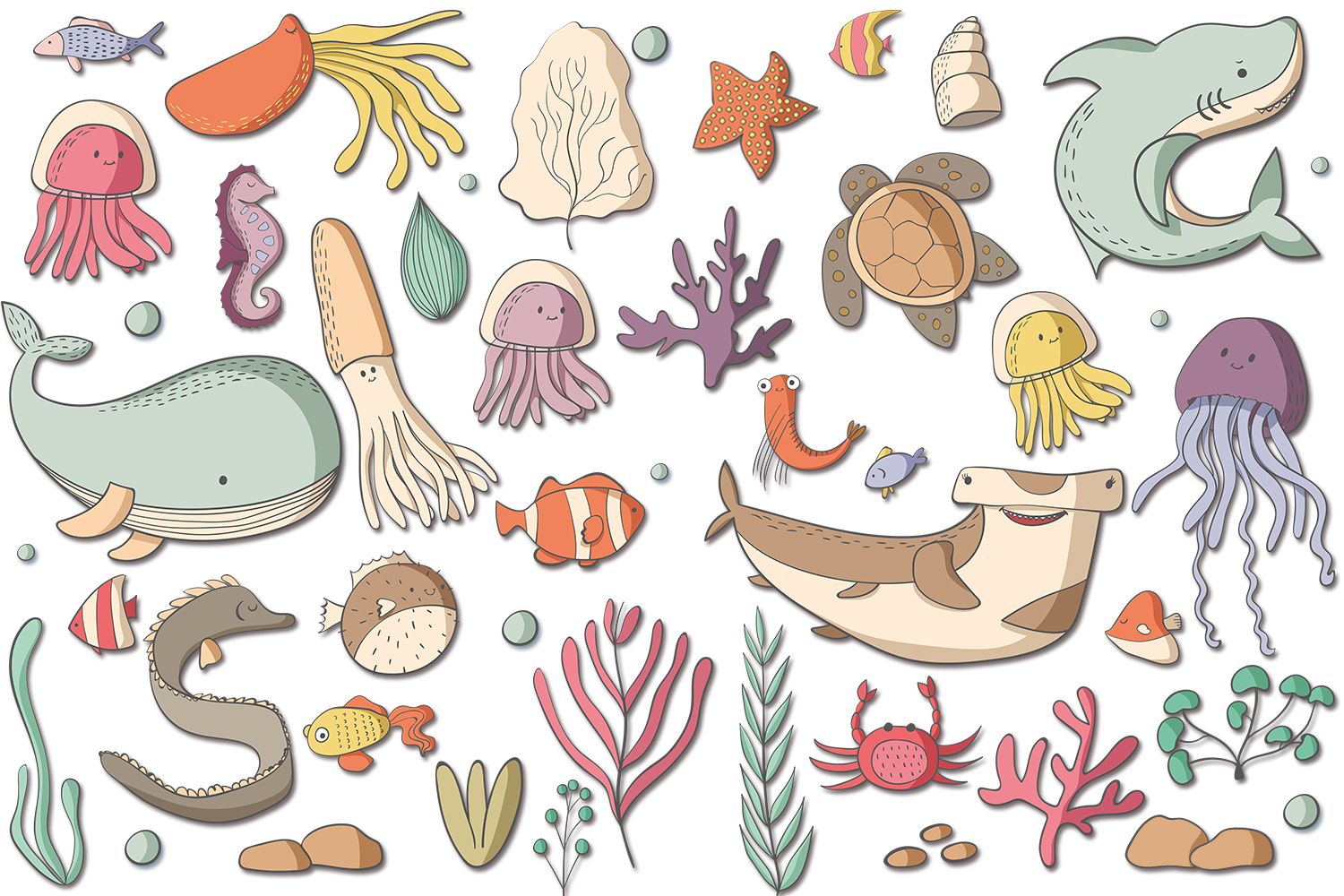 Sea Creatures example image 4