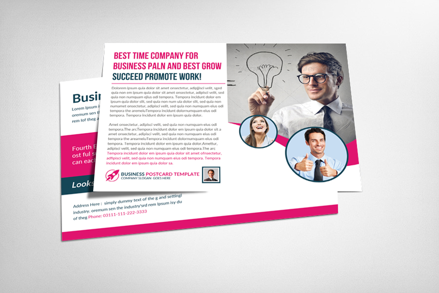 Multiuse Business Postcard Template example image 1