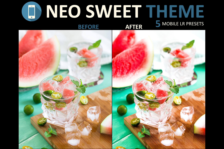 Neo Sweet Theme mobile lightroom presets example image 5