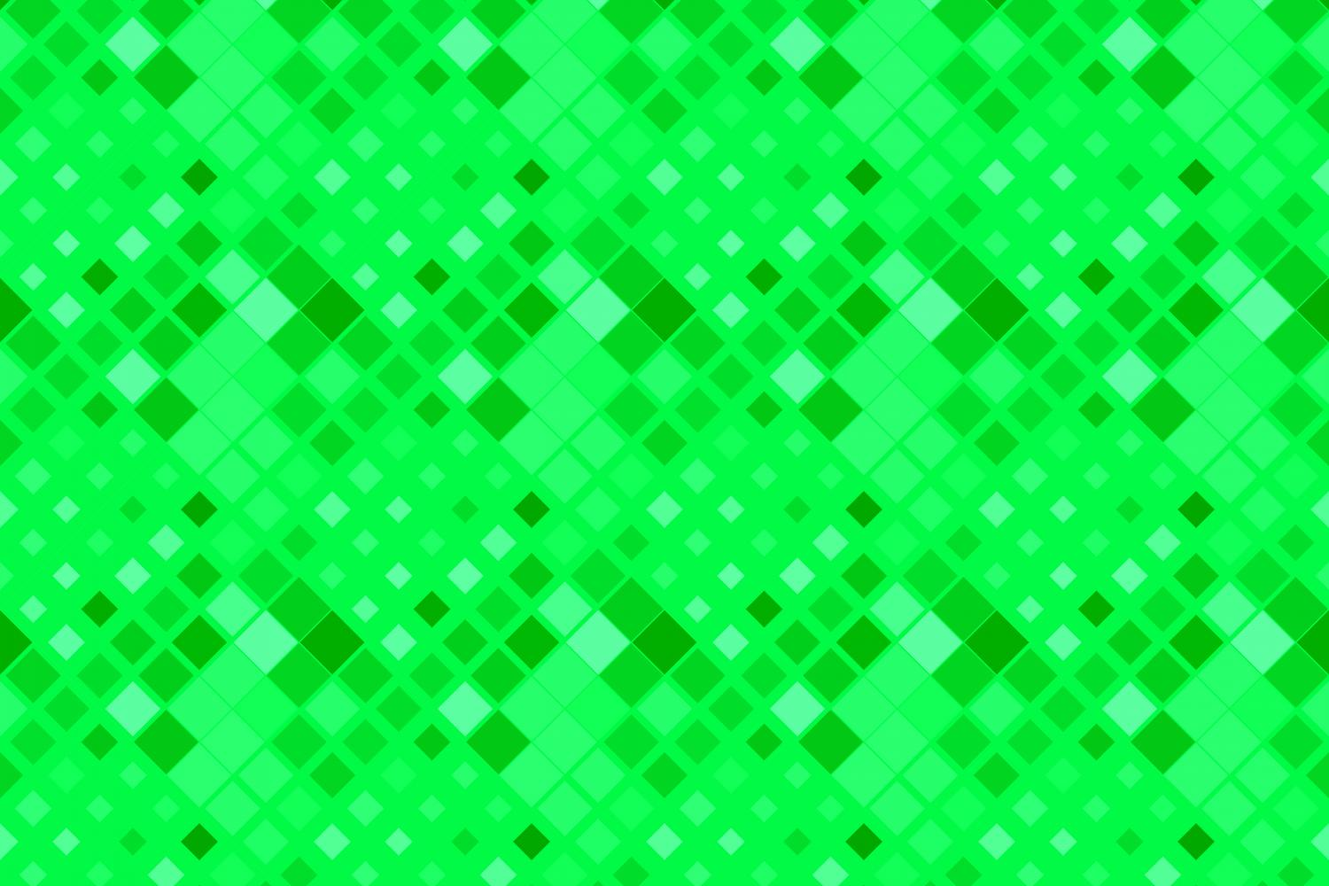 24 Seamless Green Square Patterns example image 24