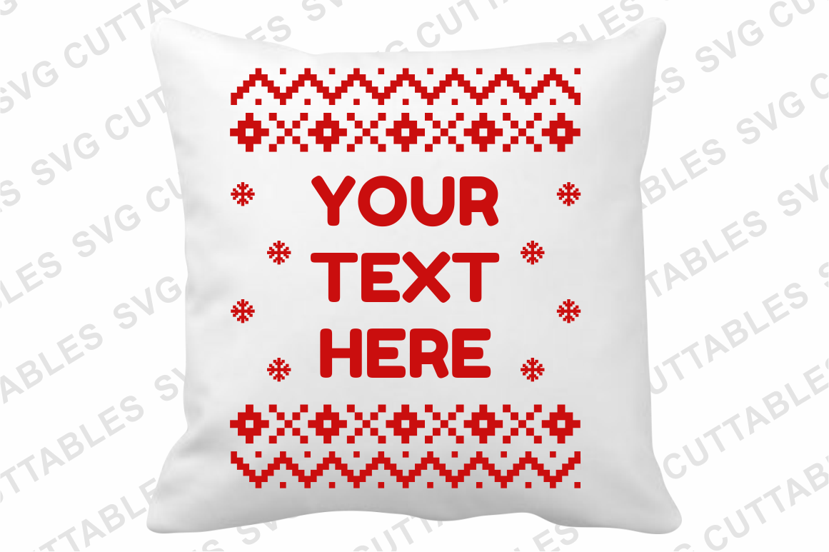 Christmas Sweater designs set of 4 example image 2