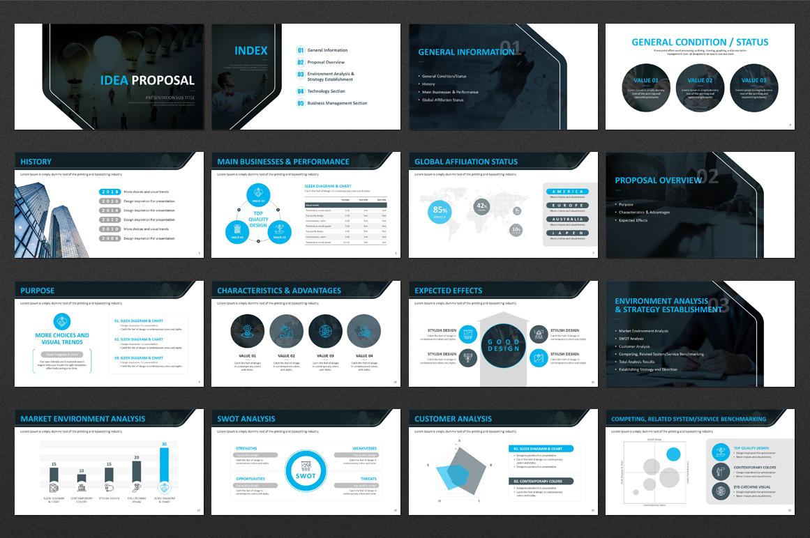 IDEA Presentation Strategy example image 2