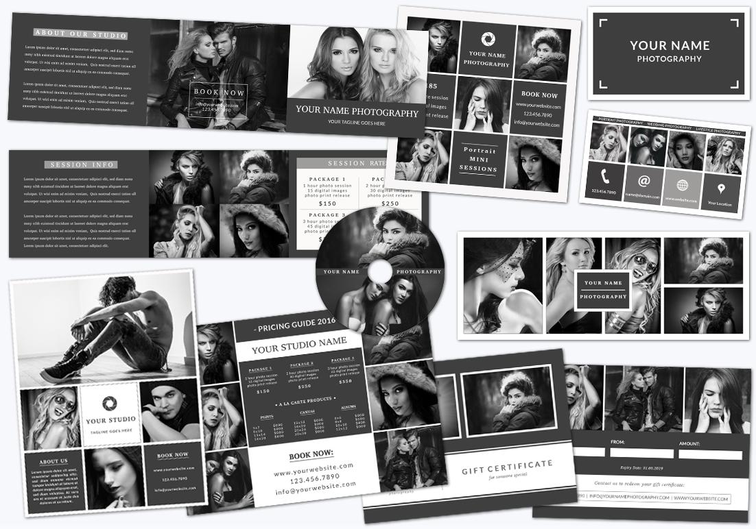 Photography Marketing Set 004 example image 1