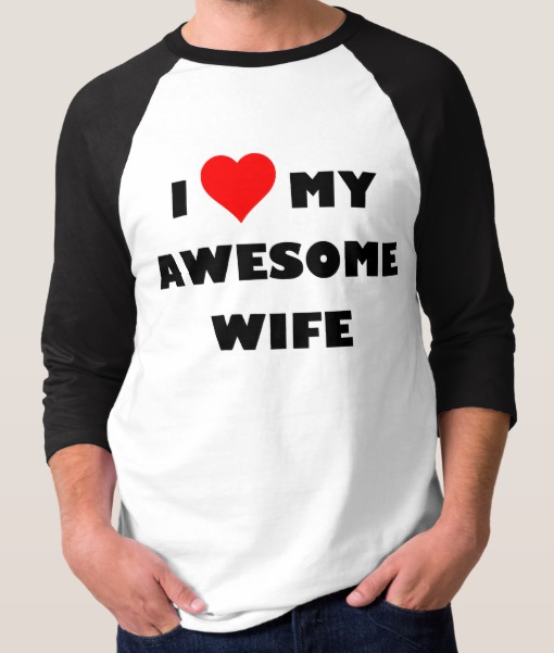 I love my awesome wife/husband example image 1