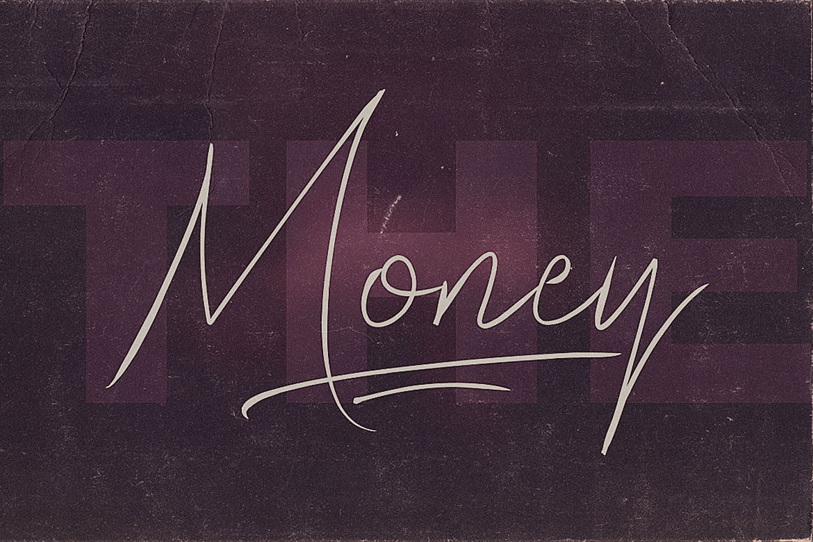 The Money Font Duo example image 6