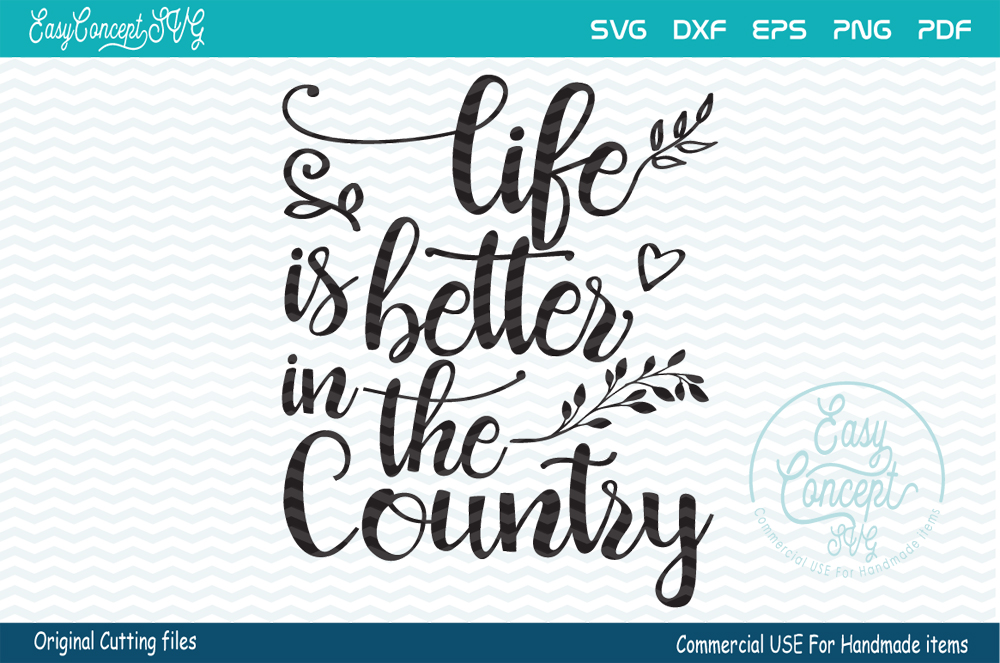 life is better In the country example image 1
