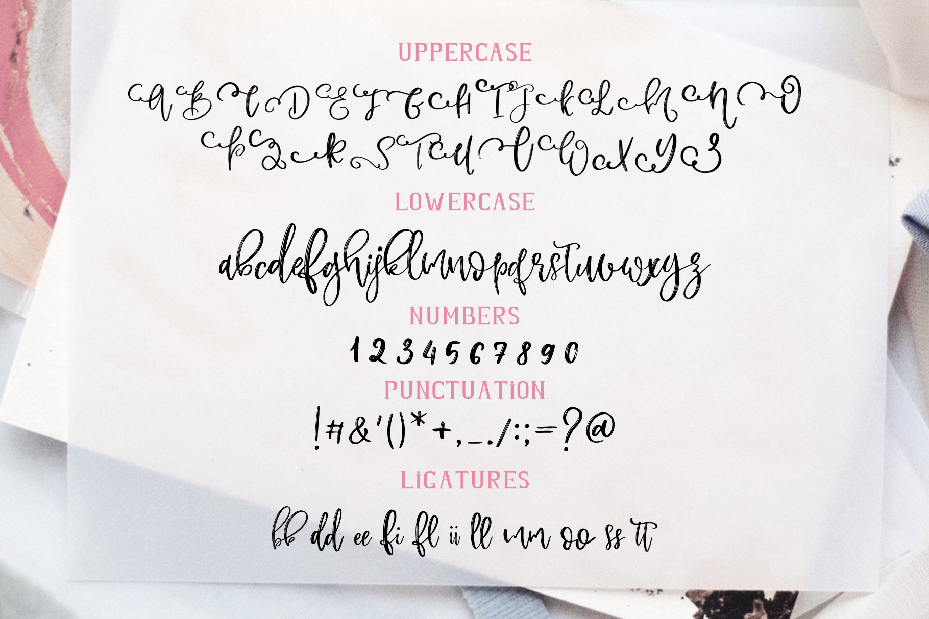 Rose Martino Font Duo example image 18