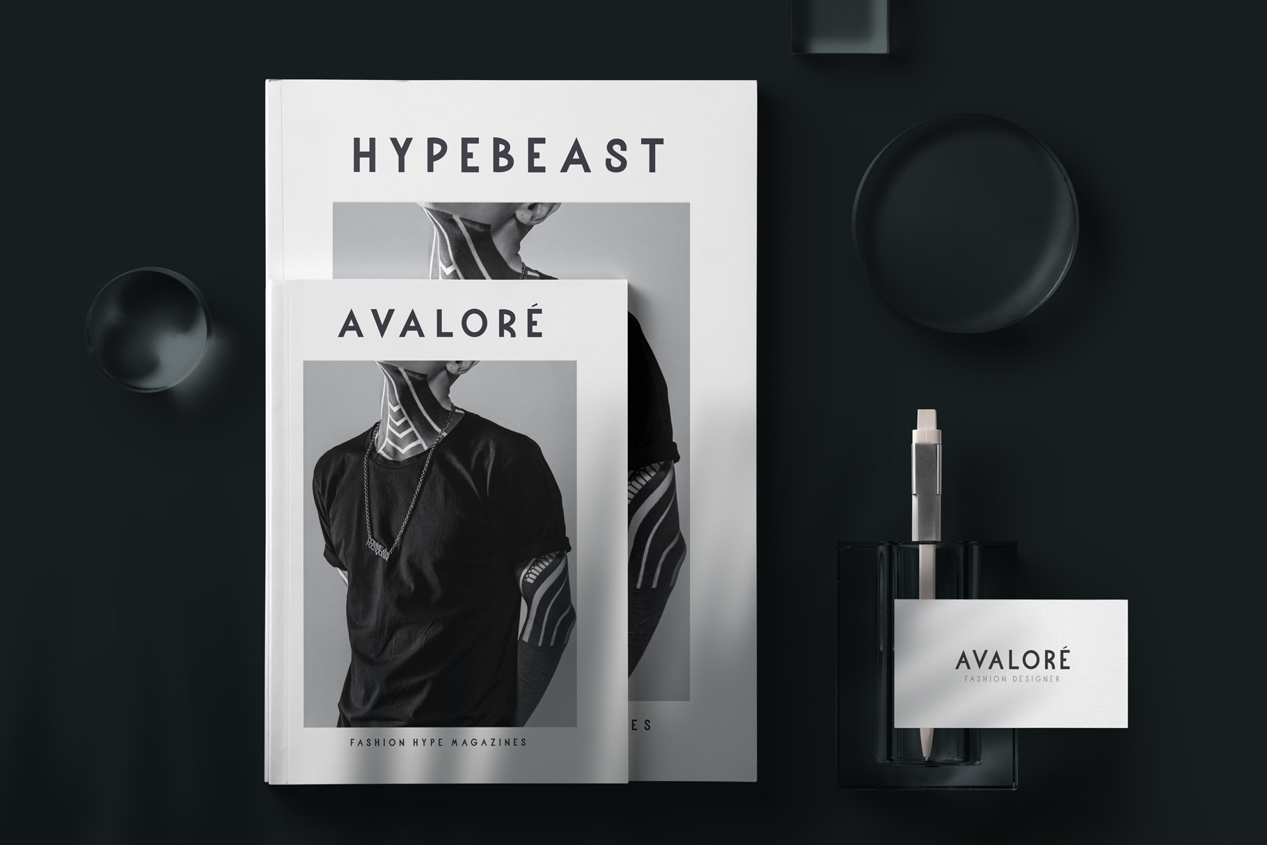 Avalore - Modern Font Family example image 3