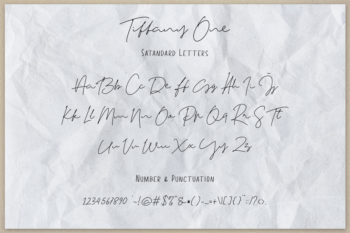 Tiffany Script example image 10