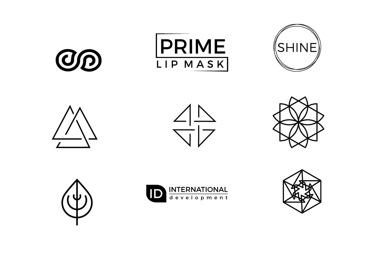 25 minimal logos Bundle example image 3