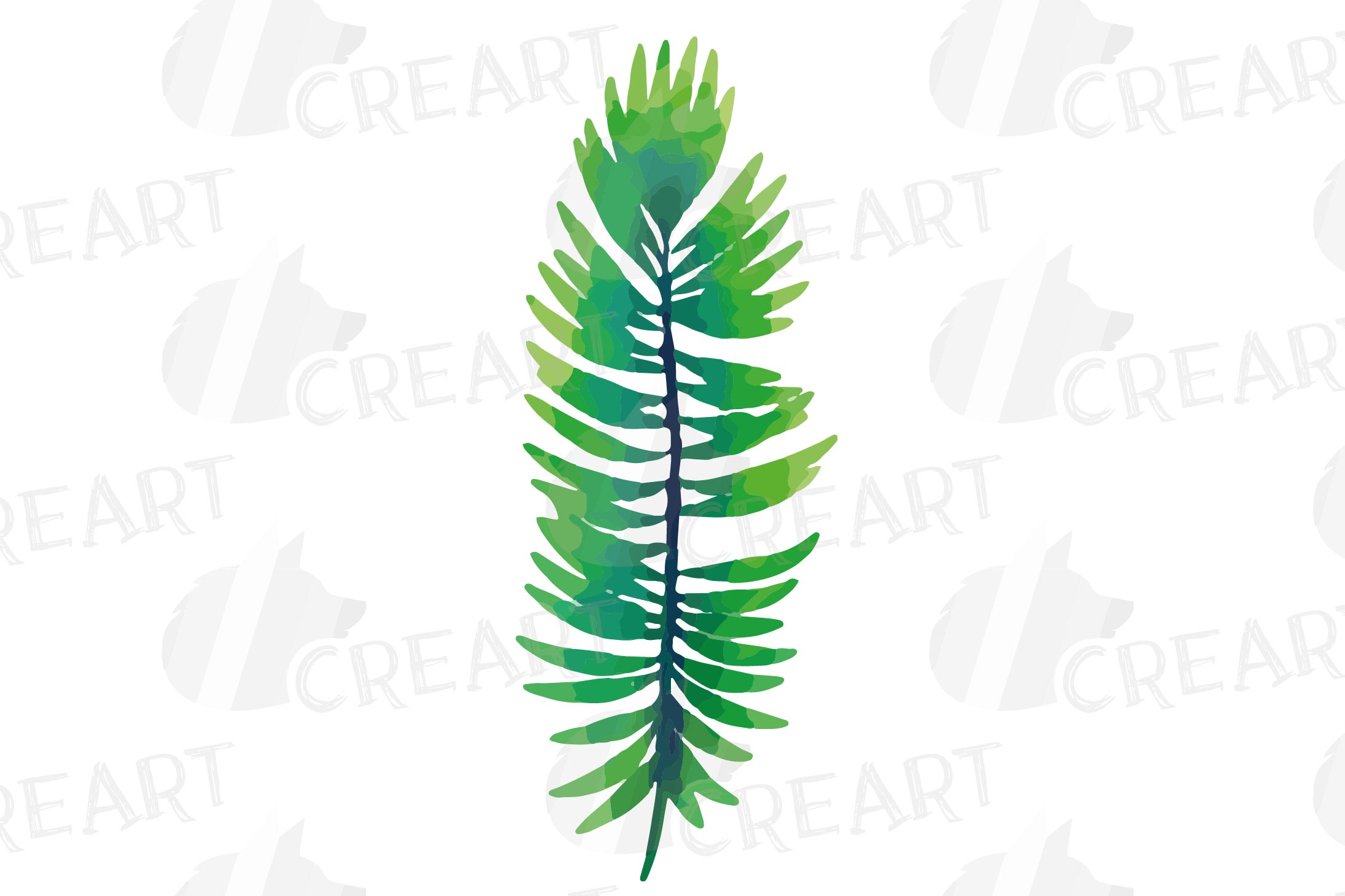 Tropical navy blue and green leaves and exotic flowers example image 30