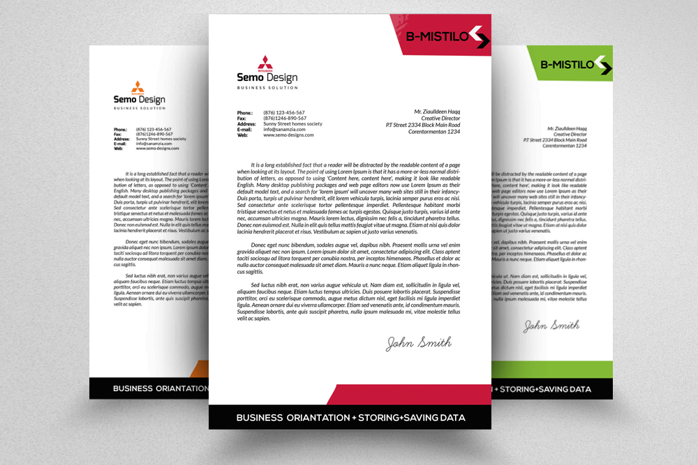 Corporate & Business Letterheads example image 1