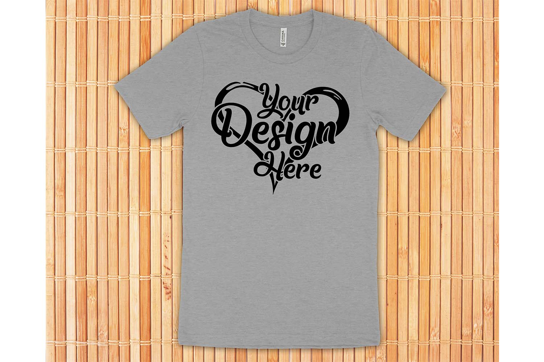 Bella Canvas 3001 Mockup Bundle T-Shirt Mock Ups 063 example image 4