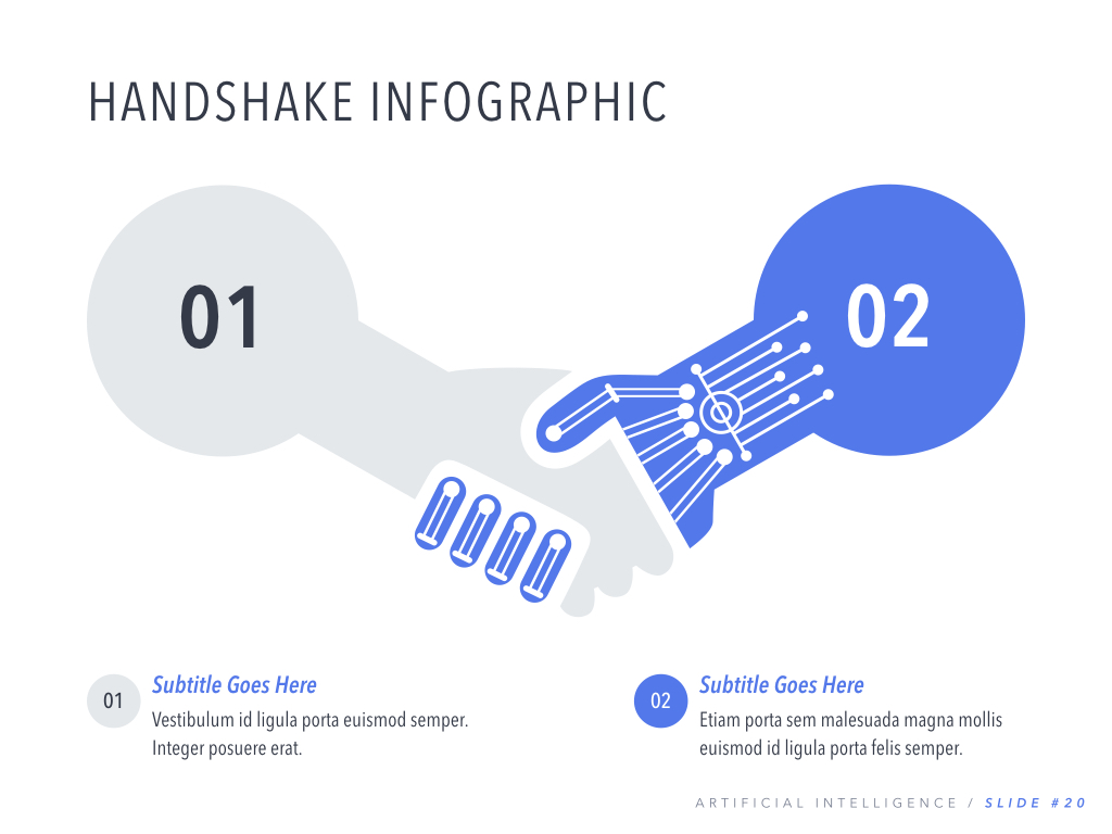 Robot Showcase PowerPoint Template example image 21
