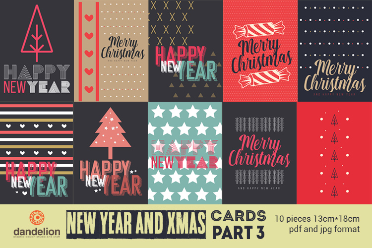 Christmas and New Year Cards example image 1