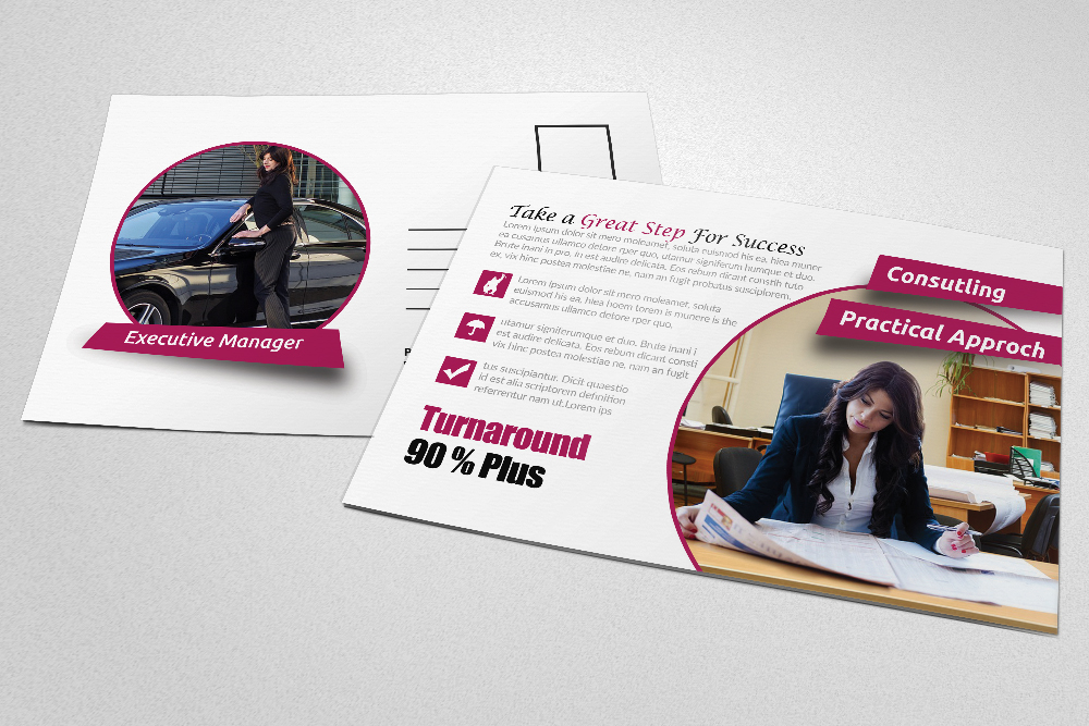 Business Postcards Template example image 4