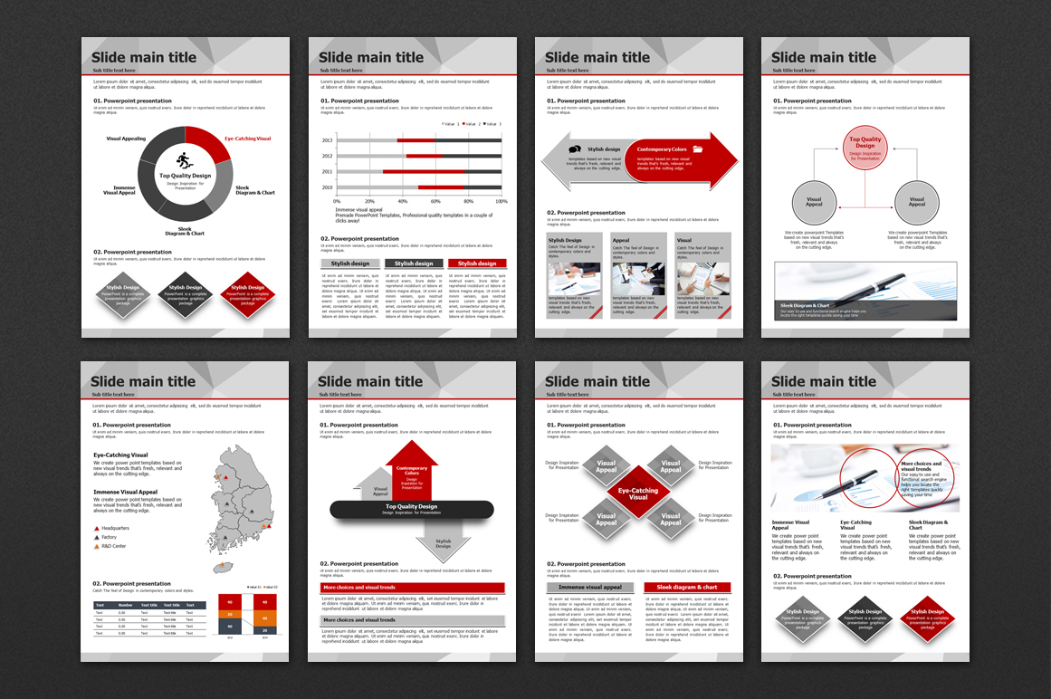 Polygon PPT Presentation Vertical example image 3