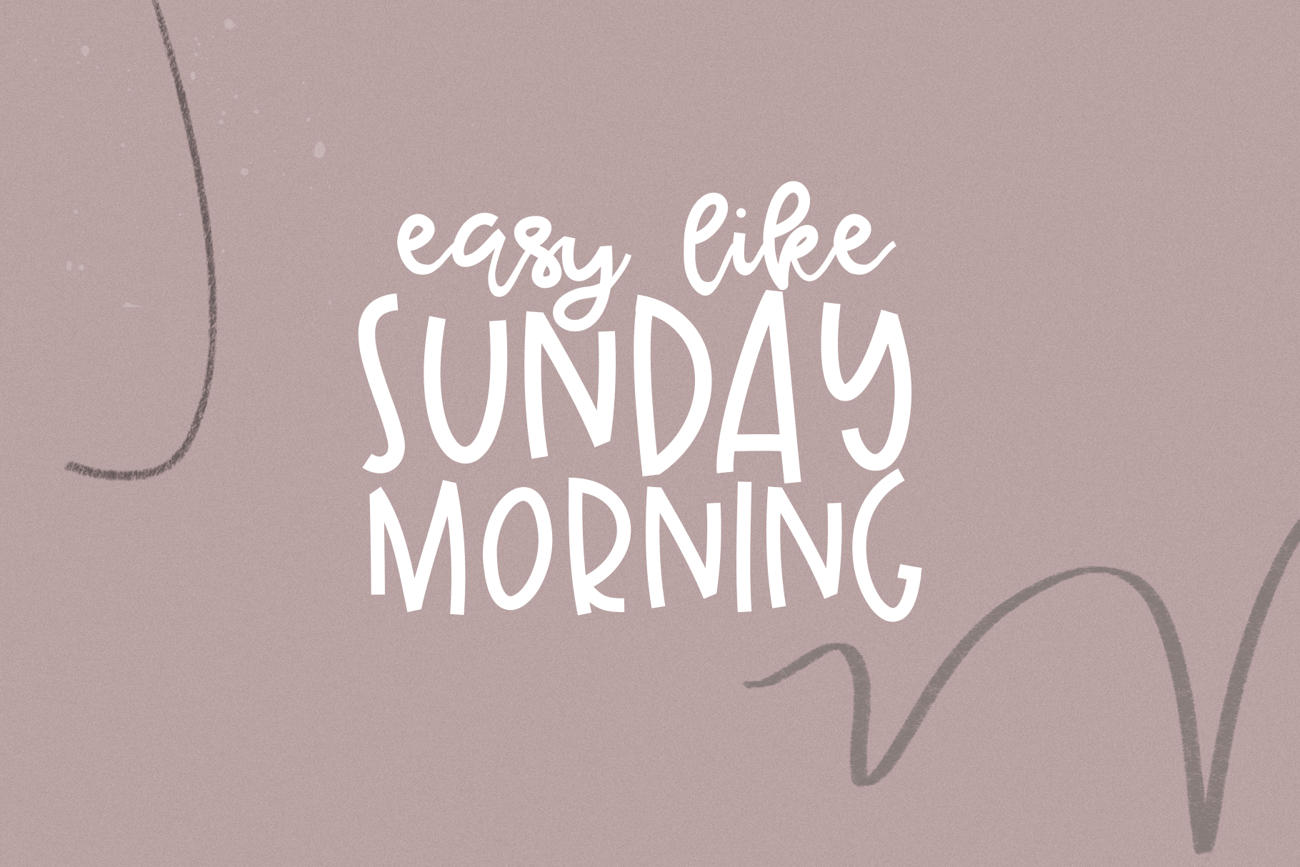 Sunday Morning - A Handwritten Script Font example image 3