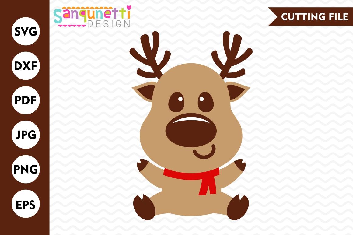 Reindeer SVG, christmas svg, winter svg, reindeer clipart ...