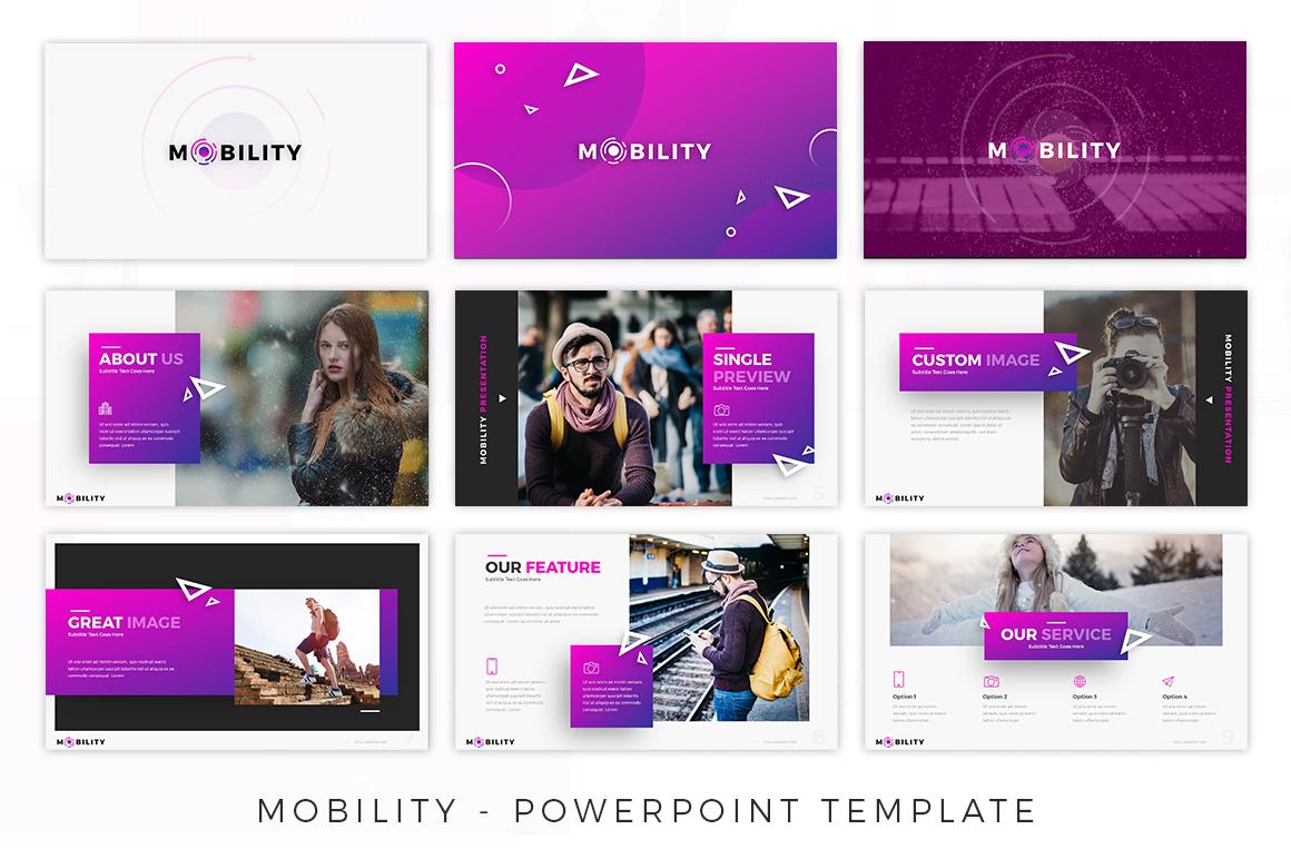 Mobility - Creative Presentation example image 4