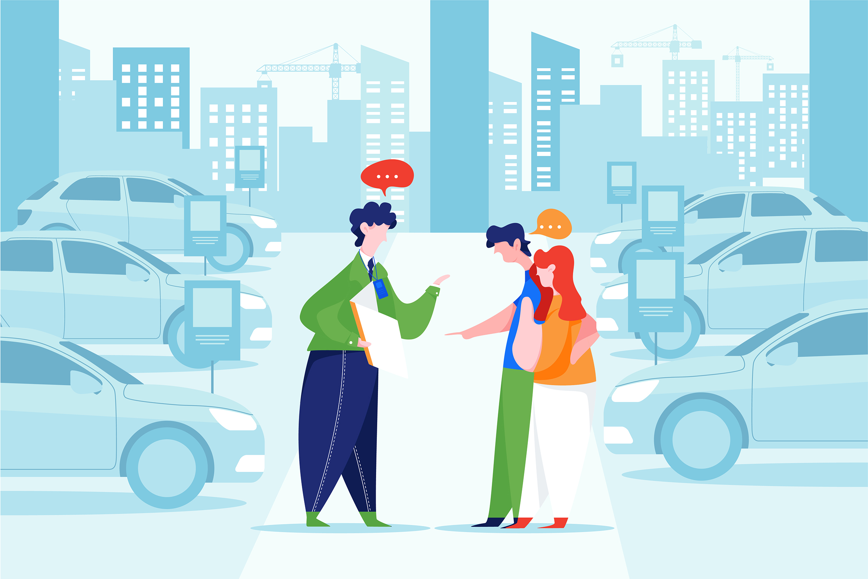 Car Dealership Vector Illustration Pack example image 5