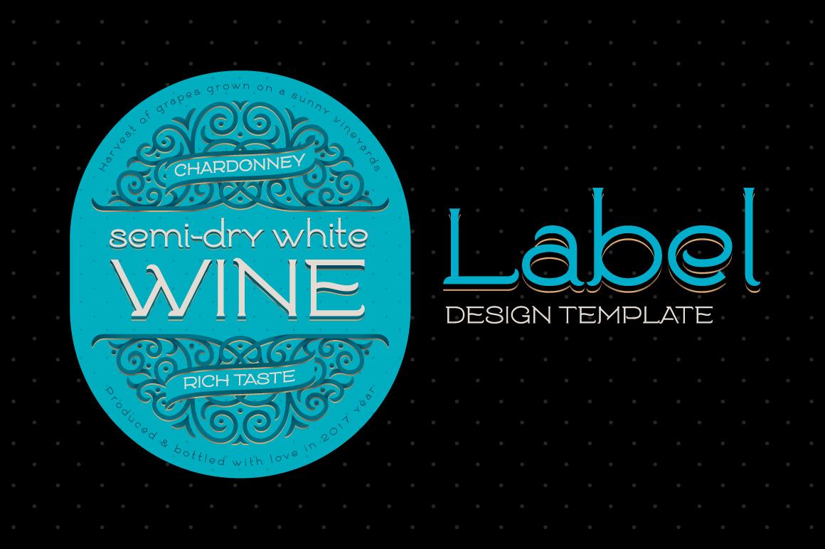 Goodwine Font, Label, Mockup example image 3