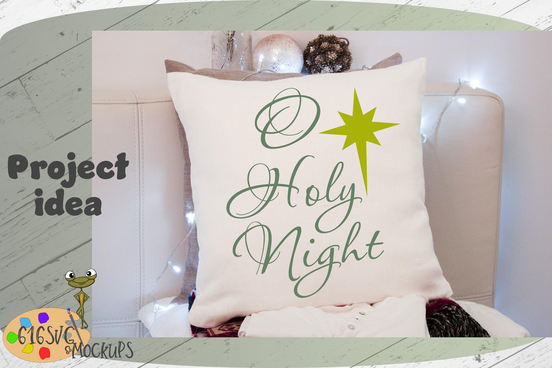 O Holy Night SVG example image 3