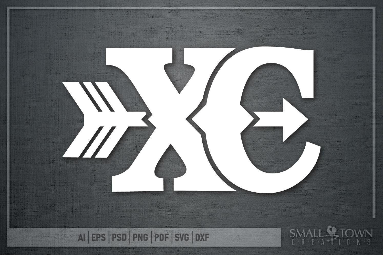 Cross Country, Runner, Distance Runner, PRINT, CUT & DESIGN example image 2