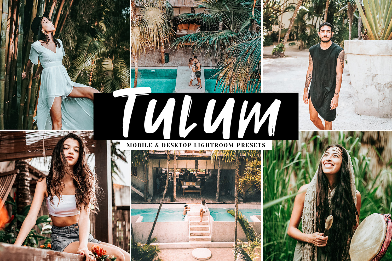 Tulum Mobile & Desktop Lightroom Presets example image 1