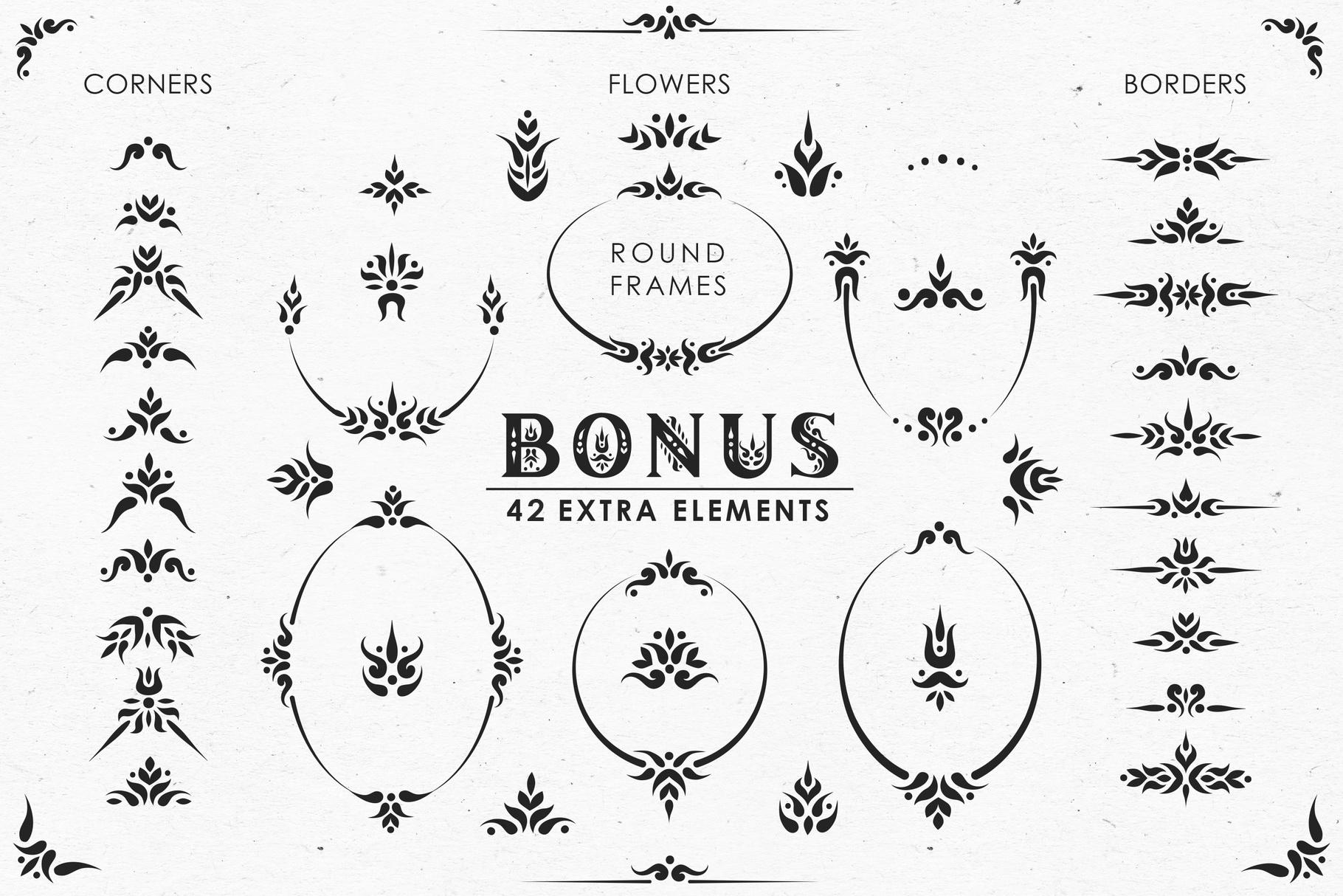 Gardenia - Serif Font Family example image 9