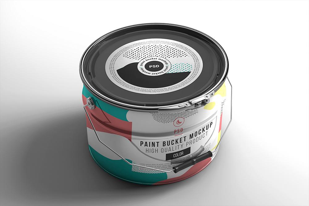 Paint Bucket Mockup example image 2
