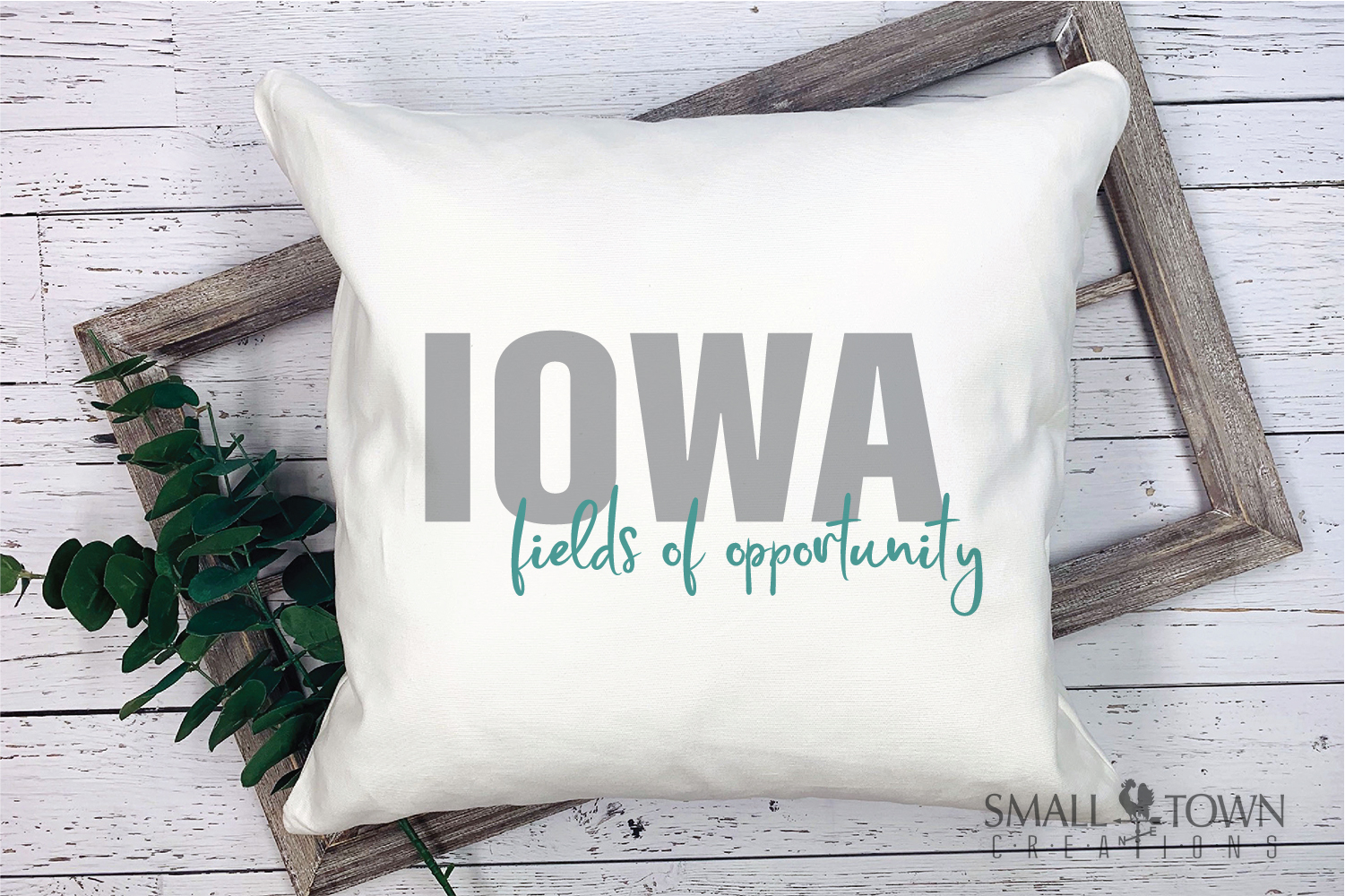 Iowa, State, Fields of Opportunity, PRINT, CUT & DESIGN example image 3