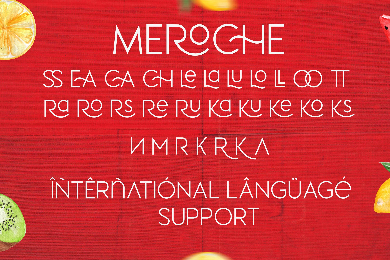 Meroche - Sweet & Classy Sans example image 9