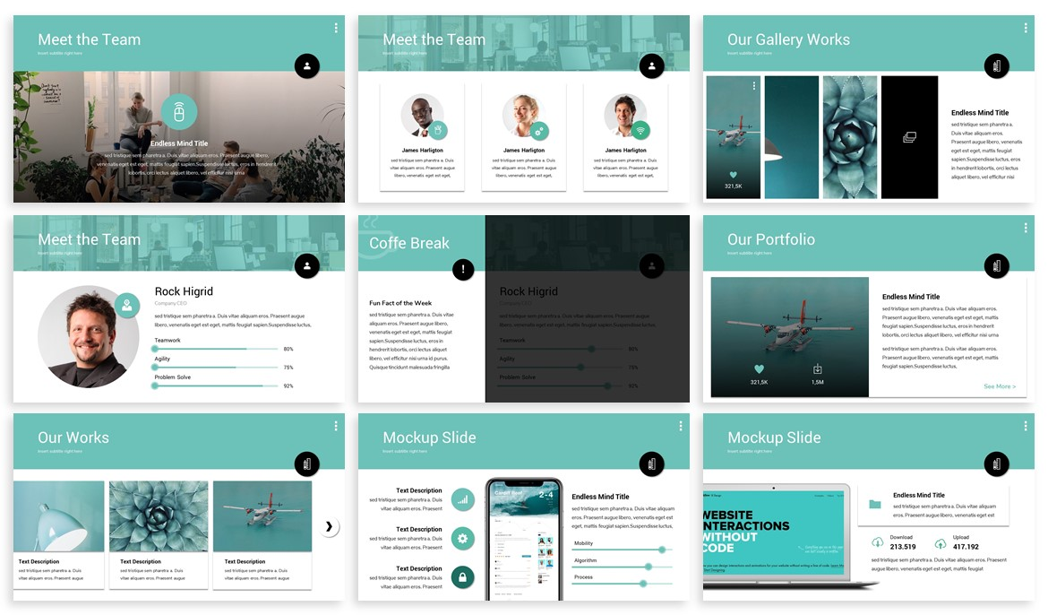 Matrid - Business Powerpoint Template example image 3