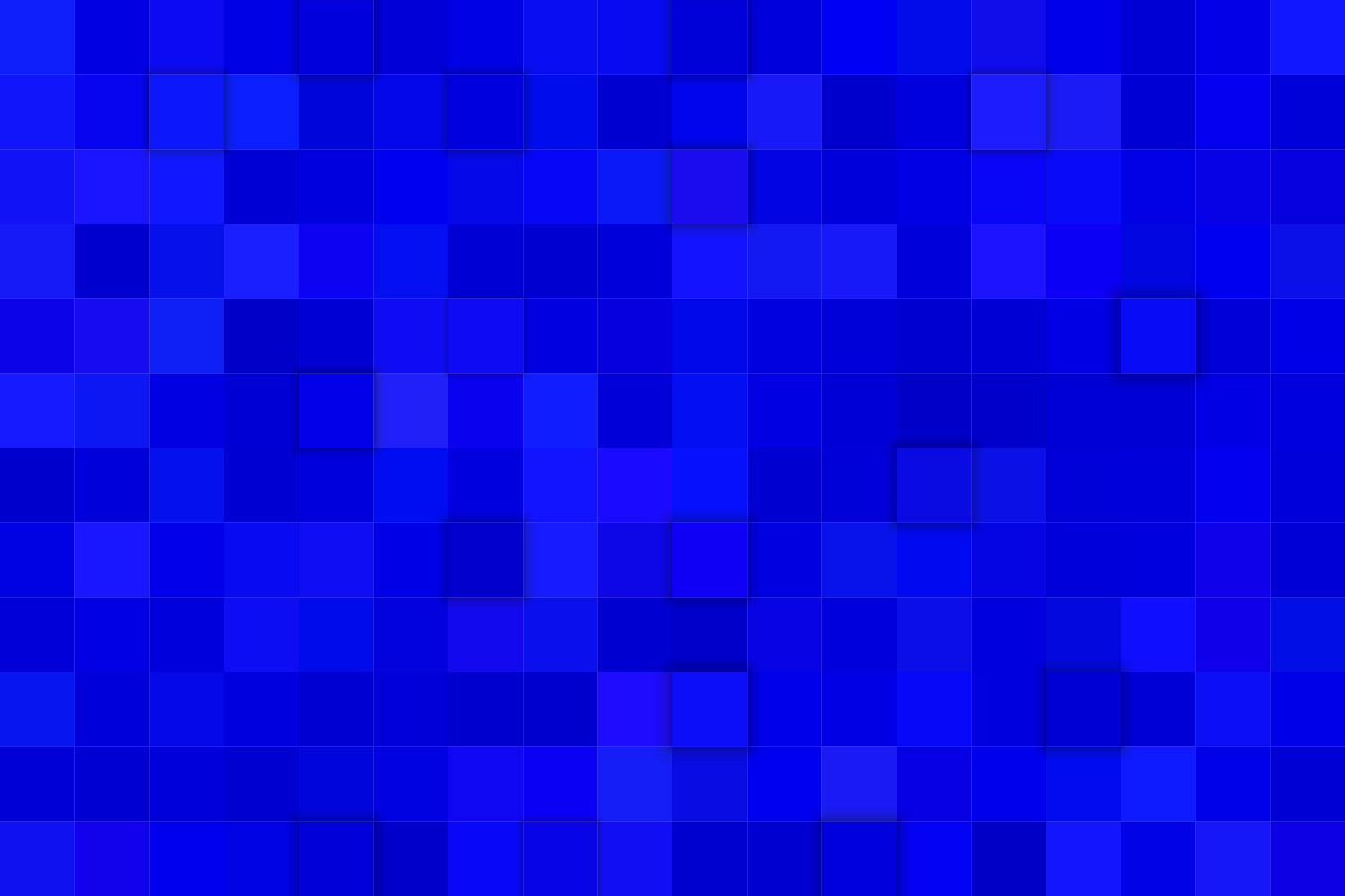 8 Blue 3D Square Backgrounds (AI, EPS, JPG 5000x5000) example image 2