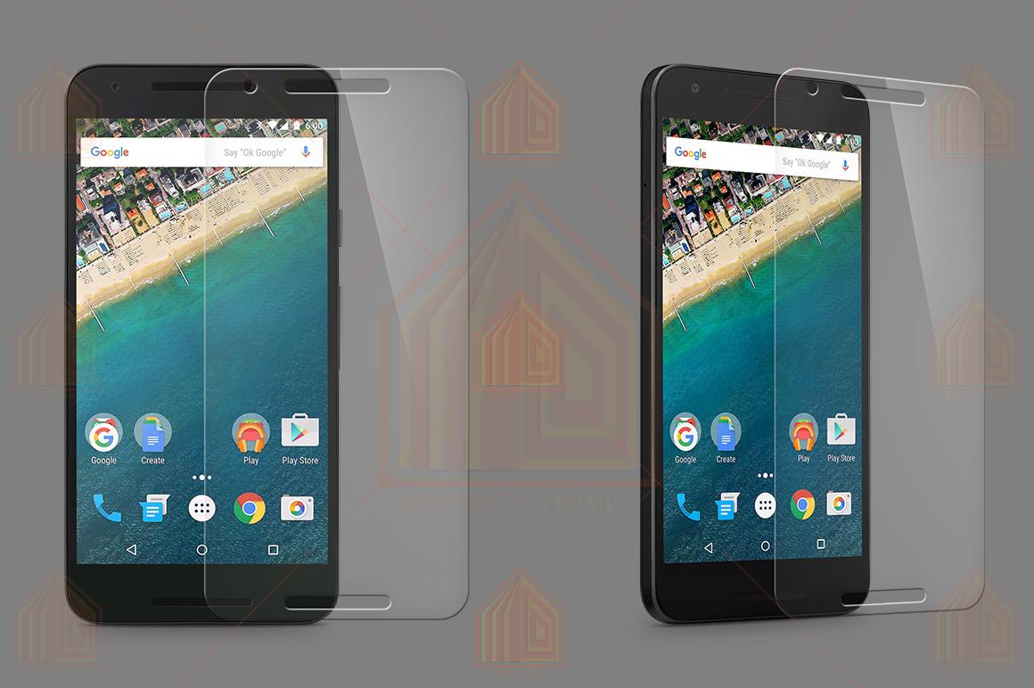 Google Nexus 5X Tempered Glass Template  example image 2